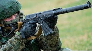 READY AND WAITING Russian Military soldiers conduct Live fire machine gun exercise