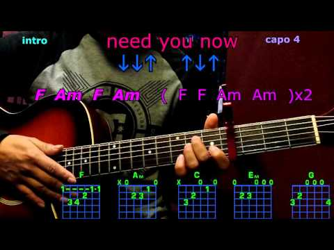 need you now lady antebellum gutar chords
