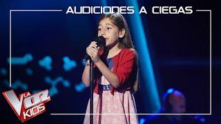Alison Fernández canta 'Ya te olvidé' | Audiciones a ciegas | La Voz Kids Antena 3 2021