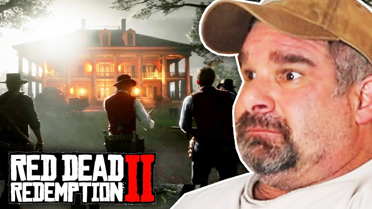 Dad Reacts to Braithwaite Manor Attack In Red Dead Redemption 2 thumbnail