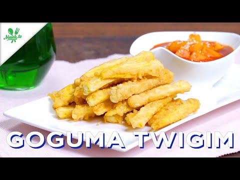🇰🇷 고구마 Goguma Twigim 🇰🇷   UBI GORENG TEPUNG