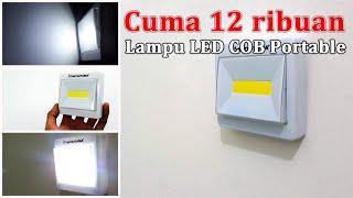 Cuma 12 Ribuan Lampu LED Darurat Portable Mudah Dibawa Kemana Mana - LED COB 10W.