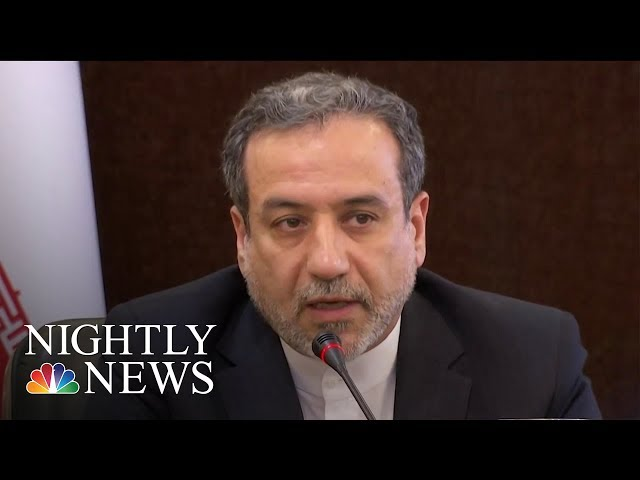 Inside Iran As Tensions With U.S. Escalate Over Uranium Enrichment | NBC Nightly News