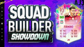 Fifa 20 Squad Builder Showdown!!! SUMMER HEAT 5* SKILLS 5* WEAKFOOT FIRMINO!!!