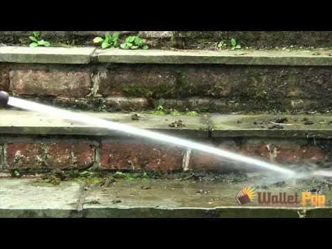 Water Jet Cleaning Washer Test - As Seen on TV
