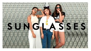 ★ SUNGLASSES LOOKBOOK ★ ft. TheLineUp