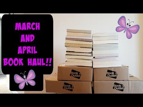 Huge March and April Book Haul 2018!!  (55+ books!!)