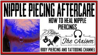 How to Heal Nipple Piercings   Nipple Piercing Aftercare Instructions