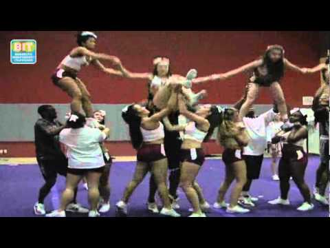 Brooklyn College Cheer Leading Team: In The Zone