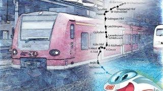 Lustiger Lokführer macht lustige Zugansagen