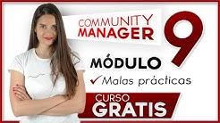 Community Manager curso gratis básico ✅ Módulo 9
