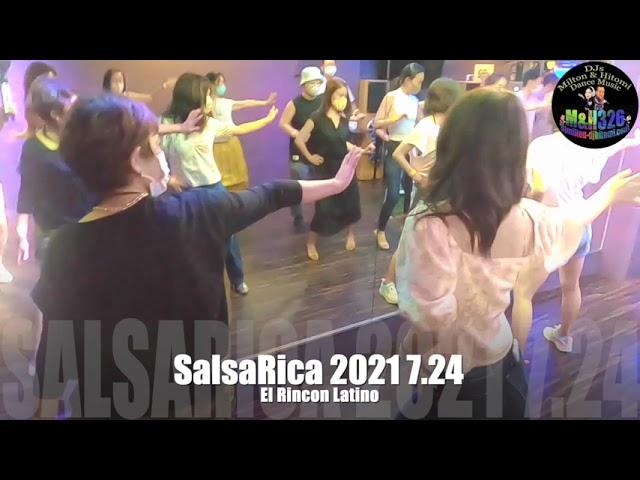 SalsaRica 2021.7.24@Osaka salsa El Rincon Latino