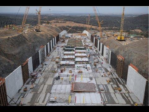 Oroville Dam Rebuild, September 15th thru Oct 1st, 2018