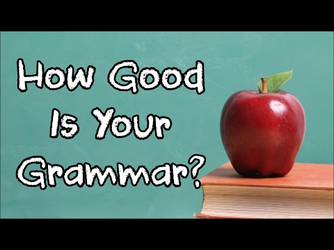 Thumbnail: Can YOU Pass This Simple Grammar Test That 90% Will Fail?