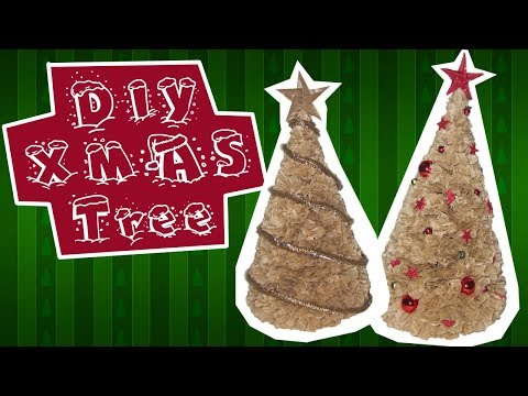 DIY Christmas Tree - Crafts for Home