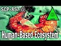 SCP-857 Human-Based Ecosystem | Object Class Safe | animal scp