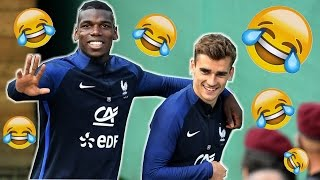 BEST OF : Paul Pogba & Antoine Griezmann ( Blagues, Chants, Snapchat )