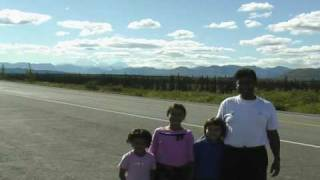Sarkar Family, USA Travel USA Mount McKinley Highest Peak of North America August 2007