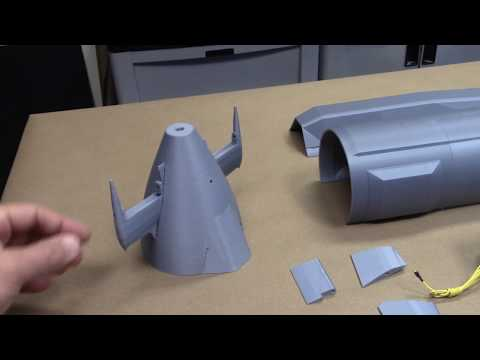3D Printed RC Submarine Hull - British Astute Class