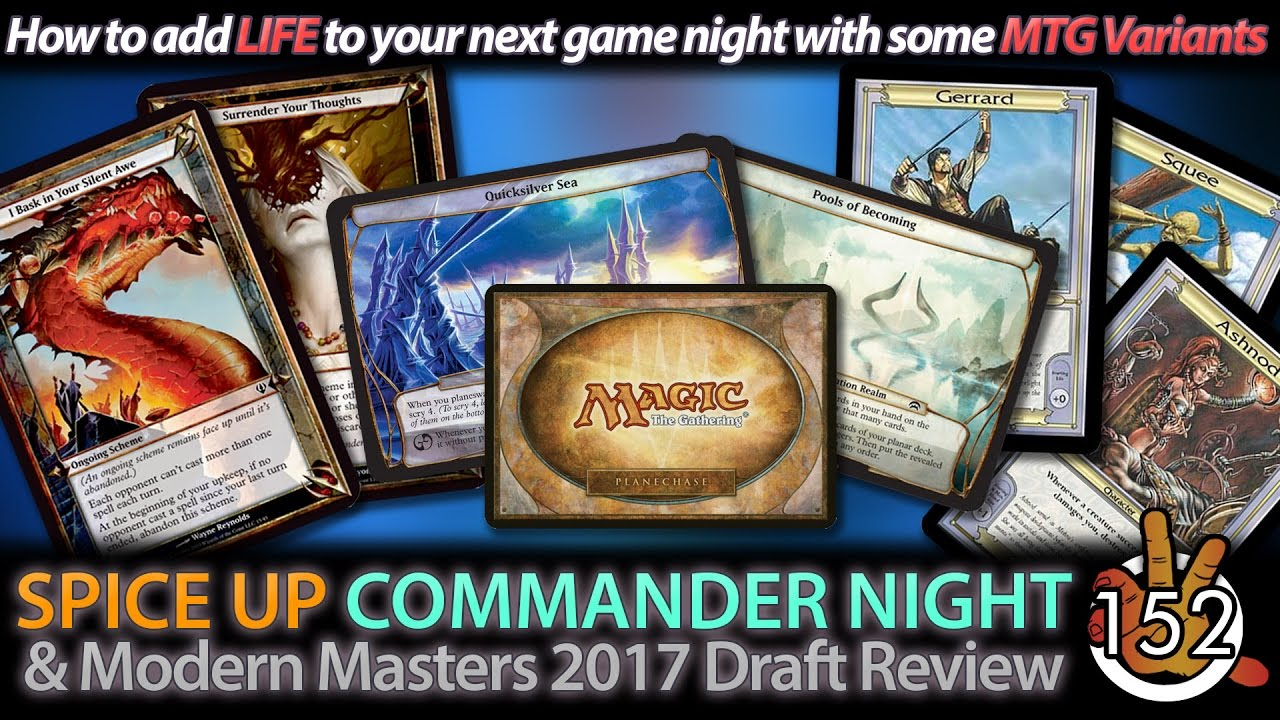 How To add LIFE to Commander Night! EDH Variants | The Command Zone #152 |  Magic Podcast