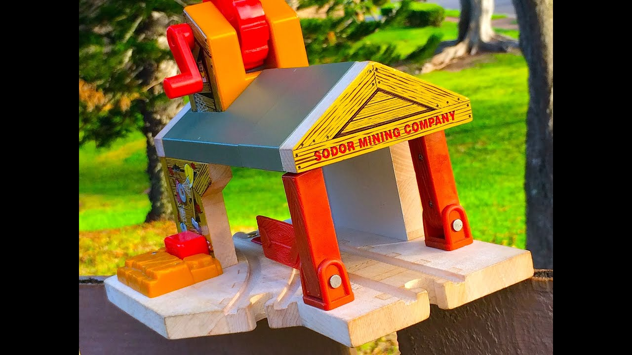 Thomas The Tank Engine Friends Haunted Mine Destination A 60 Second Wooden Toy Train Review
