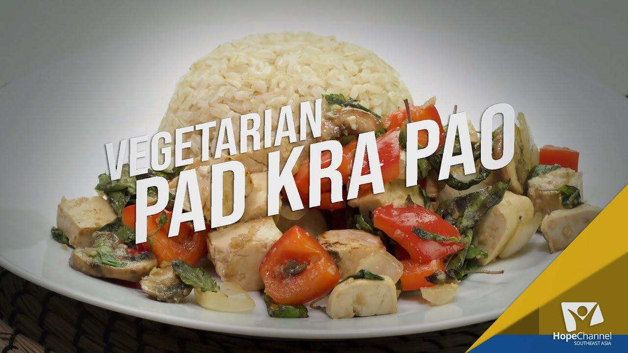 Vegetarian Pad Kra Pao | Ready, Set... Cook!