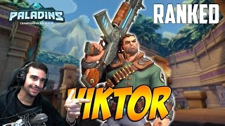 Paladins RANKED | Viktor | QUITÁNDOLE EL POLVO AL SR. VIKTOR | Gameplay Español