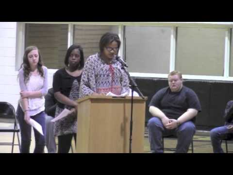 ***  Part 1( The Journey )  Marlboro County High School Blk History Program