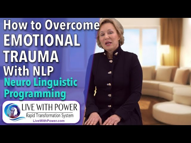 How to Overcome Emotional Trauma with NLP and hypnosis. Revolutionary method.to Get rid of Pain