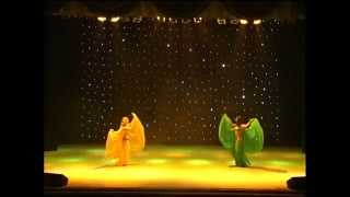 "Fantasy Belly dance by Oksana Makarenko & Tatiana Chernyshova - ""The Dance of leaves"""