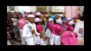 TERNO ROSA & BRANCO - CONGADA - Capitão Sandro - Igreja Matriz de Campinas - 13 MAIO 12