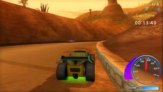 PSP Emulator Hot Wheels Ultimate Racing Gameplay