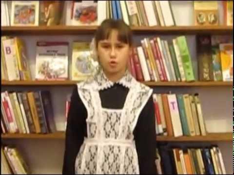 Изображение предпросмотра прочтения – ДарьяДенюшина читает произведение «Школьник» Н.А.Некрасова