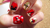 Chinese new year nail art design 2017 year of the rooster youtube 814 prinsesfo Gallery
