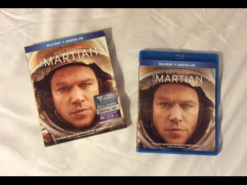 Download The Martian (2015) Blu Ray Unboxing Review