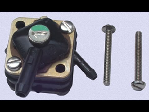 Johnson Fuel Pump - YouTube