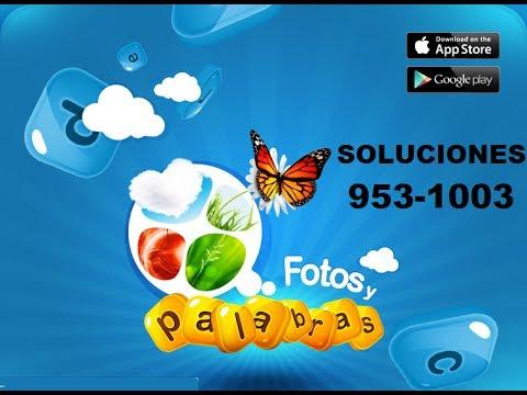 Soluciones juego facebook fotos y palras respuestas 953-1003