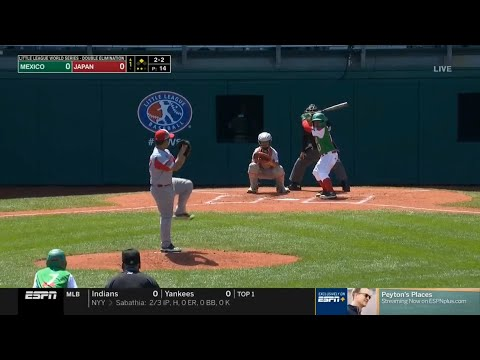 LLWS 2019 Winners Bracket | Mexico Vs Japan | 2019 Little League World Series Highlights