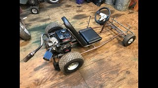 improving the two speed go kart with go power sports products
