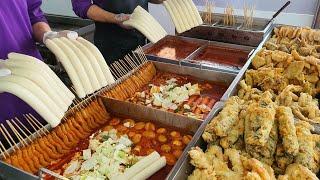 Как приготовить корейскую комфортную еду «Ттеокбокки», пряный рисовый пирог - Корейская еда
