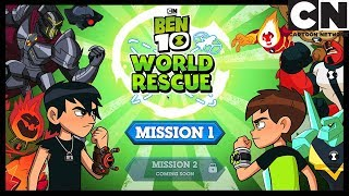 Ben 10 | Ben 10 World Rescue Game Playthrough | Cartoon Network
