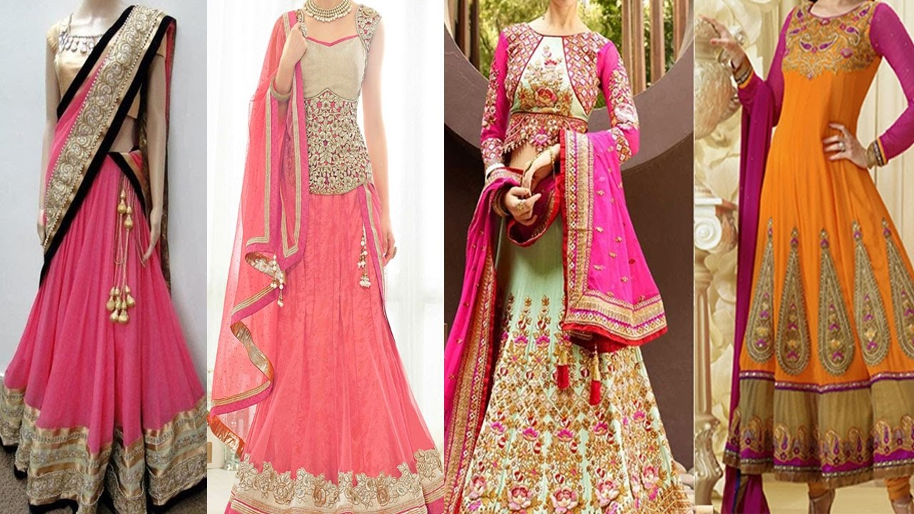 Fashion week How to ghagra wear choli dupatta for girls