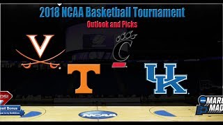 2018 NCAA Tournament South Region Preview Picks & Betting Odds