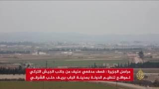 الجيش السوري الحر يتوغل بقلب مدينة الباب