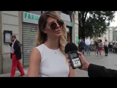 Milano Fashion Week  domande assurde, ma fashion blogger e stylist fingono di sapere