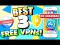 Best FREE VPN Apps for iPhone, iPad, iPod Touch (NO JAILBREAK) iOS 10 & iOS 9 - UNLIMITED Free VPN