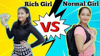 Rich Girl Vs Normal Girl  Pretty Asmi