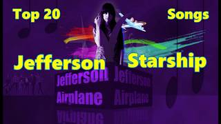Top 10 Jefferson Airplane Starship Songs (20 Songs) Greatest Hits (Grace Slick)