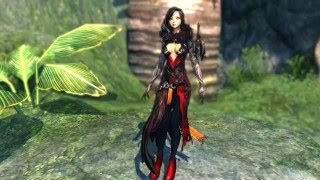 Blade and Soul - Warlock Gameplay and Leveling Event Outfit