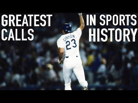 The Greatest Calls in Sports History